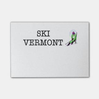 TOP Ski Vermont Post-it® Notes