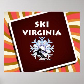TOP Ski Virginia Poster