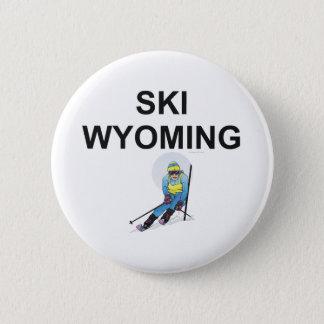 TOP Ski Wyoming Pinback Button