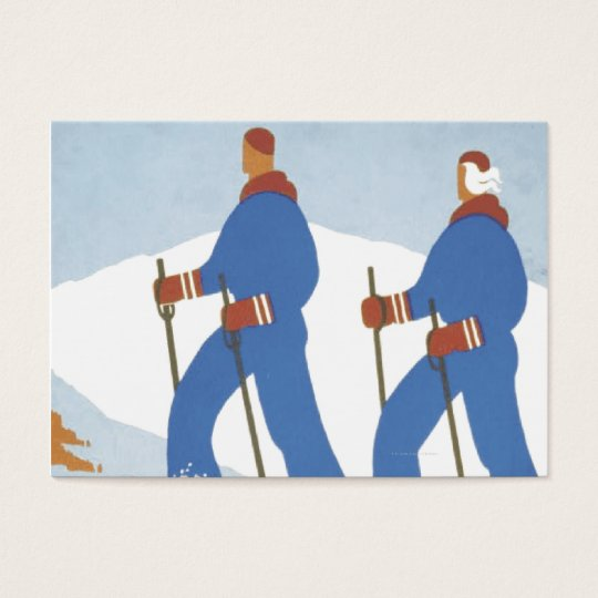 TOP Skiing Business Card