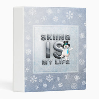 TOP Skiing is My Life Mini Binder