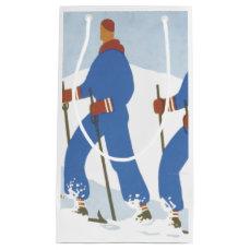 TOP Skiing Small Gift Bag