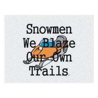 TOP Snowmen Postcard