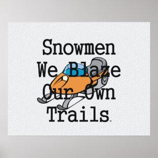 TOP Snowmen Poster