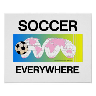 TOP Soccer Everywhere Poster
