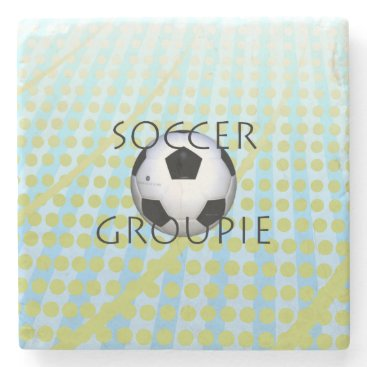 TOP Soccer Groupie Stone Coaster