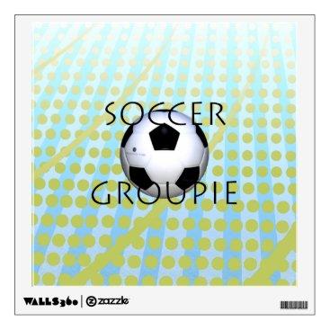 USA Themed TOP Soccer Groupie Wall Sticker