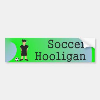 TOP Soccer Slogan Bumper Sticker