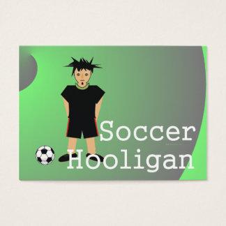 TOP Soccer Slogan Business Card