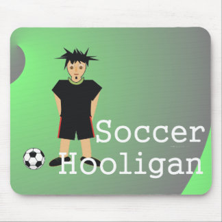 TOP Soccer Slogan Mouse Pad