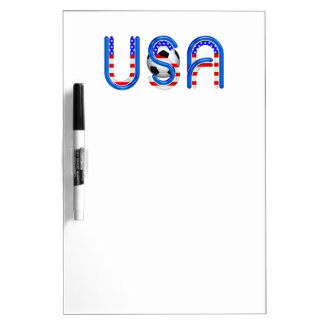 TOP Soccer USA Dry Erase Board