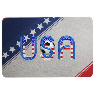 TOP Soccer USA Floor Mat