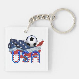 TOP Soccer USA Keychain