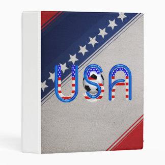 TOP Soccer USA Mini Binder