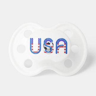 TOP Soccer USA Pacifier
