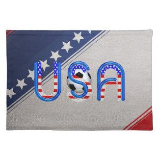TOP Soccer USA Placemat