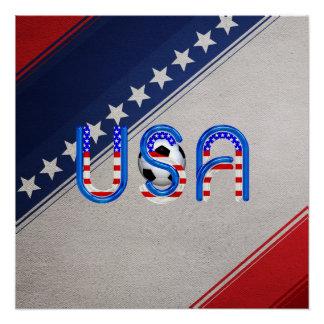 TOP Soccer USA Poster