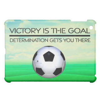 TOP Soccer Victory Slogan Case For The iPad Mini
