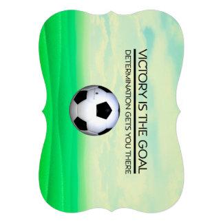TOP Soccer Victory Slogan Invitations