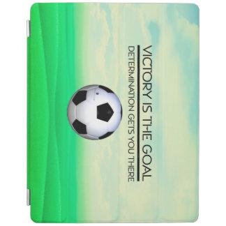 TOP Soccer Victory Slogan iPad Cover