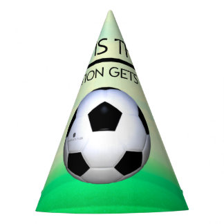 TOP Soccer Victory Slogan Party Hat