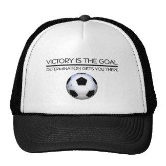 TOP Soccer Victory Slogan Trucker Hat