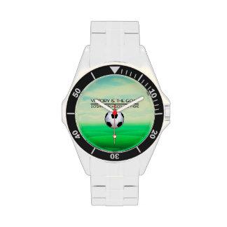 TOP Soccer Victory Slogan Wristwatch