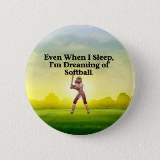 TOP Softball Dreams Button