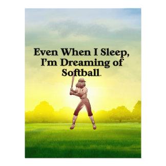 TOP Softball Dreams Custom Flyer