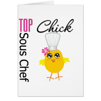 Top Sous Chef Greeting Cards