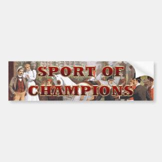 TOP Sport of Champions Bumper Sticker