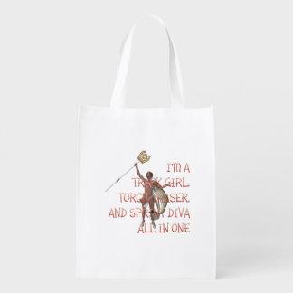 TOP Sprint Diva Reusable Grocery Bags