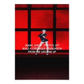 TOP Squat Slogan Card