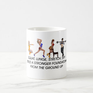 TOP Squat Slogan Coffee Mug