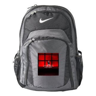 TOP Squat Slogan Nike Backpack