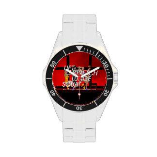TOP Squat Slogan Wrist Watches
