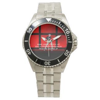 TOP Squat Slogan Wristwatch