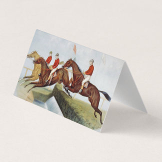 TOP Steeplechase Business Card