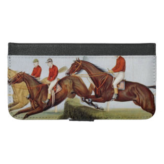 TOP Steeplechase iPhone 6/6s Plus Wallet Case