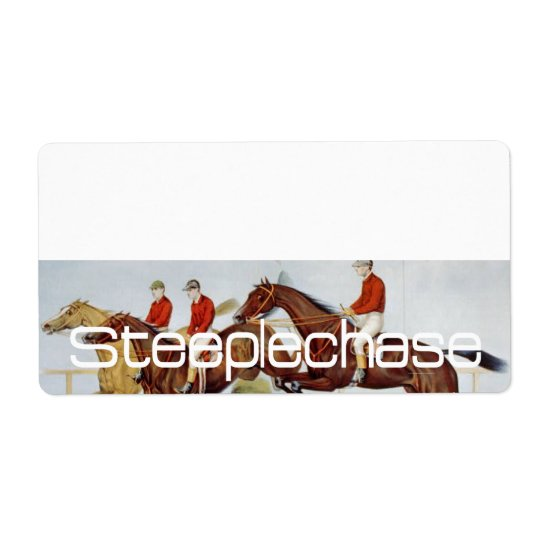 TOP Steeplechase Label