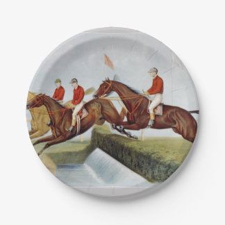 TOP Steeplechase Paper Plate