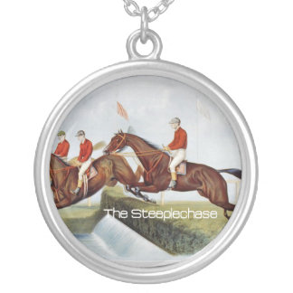 TOP Steeplechase Silver Plated Necklace