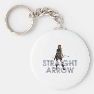 TOP Straight Arrow Keychain