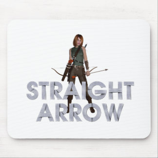 TOP Straight Arrow Mouse Pad