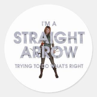 TOP Straight Arrow Stickers