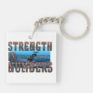 TOP Strength in Numbers Keychain