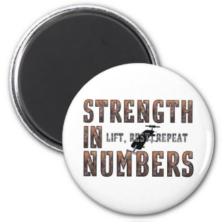 TOP Strength in Numbers Magnet