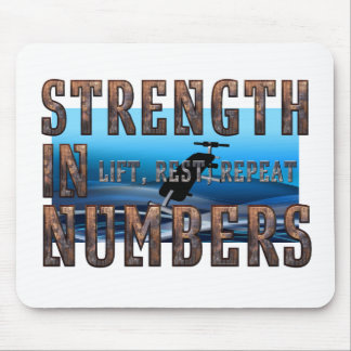 TOP Strength in Numbers Mouse Pad