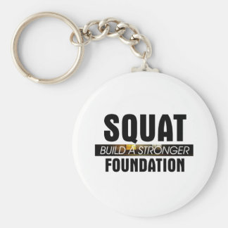 TOP Strong Foundation Basic Round Button Keychain