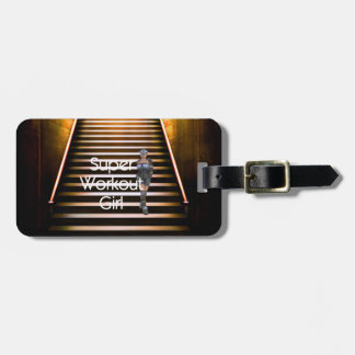 TOP Super Workout Girl Luggage Tag